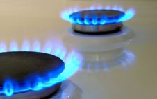 Free Flames Of Gas Stove Stock Image - 7831871