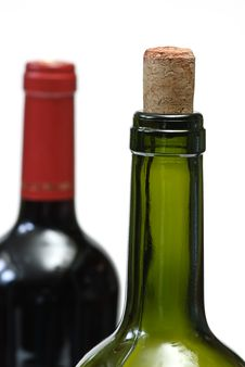 Free Two Bottle And Cork Royalty Free Stock Images - 7831929