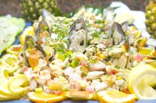 Free Fresh Mussels With Onions Stock Photography - 7832012