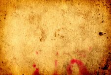 Free Old Paper Grunge Background Stock Image - 7832101