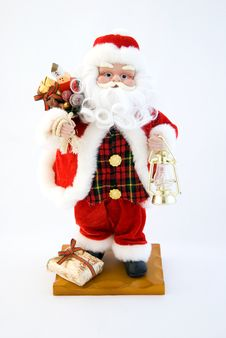 Free Toy Santa Claus Royalty Free Stock Photo - 7832185