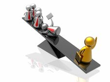 Free Golden Leadership Stock Photography - 7833382