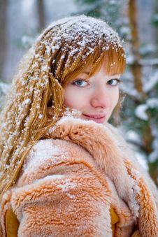 Free Winter Girl Stock Images - 7833564