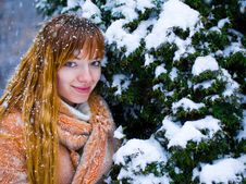 Free Winter Girl Royalty Free Stock Images - 7833689