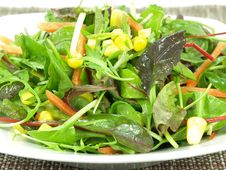 Free Baby Greens - Salad Royalty Free Stock Photo - 7833705
