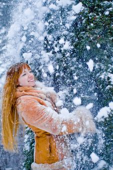 Free Winter Girl Stock Images - 7833714