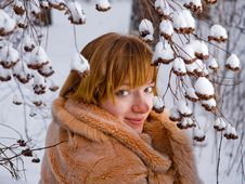 Free Winter Girl Stock Photo - 7833770