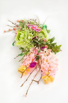 Free Bouquet Of Artificial Flowers Stock Photography - 7834222