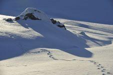 Free Snow Detail Stock Image - 7834421