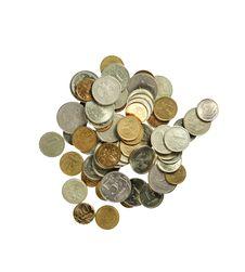 Free Coins Royalty Free Stock Photos - 7835268