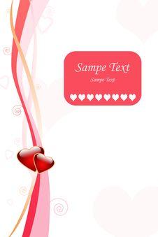 Love Greeting Card Royalty Free Stock Photo