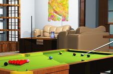 Free Snooker Room Stock Photo - 7836010