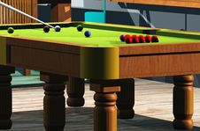 Free Snooker Room Stock Image - 7836011
