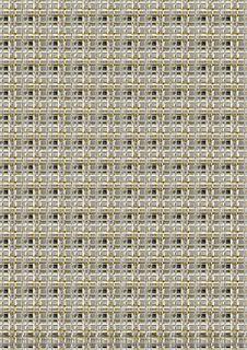 Free Metallic Maze Pattern Stock Photography - 7836132