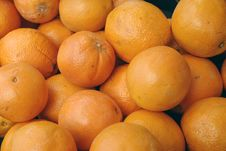 Organic Oranges Stock Photos
