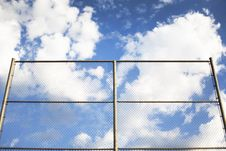 Free Fence And Sky Stock Images - 7836684