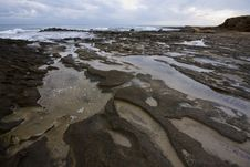 Free Puddles On The Beach Stock Photos - 7836973