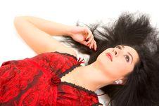 Free Glamour Woman Stock Image - 7837611