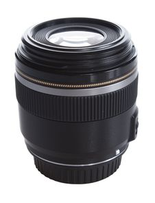 Black Fixed Focus Lens Stock Photos