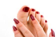 Free Woman Feet Massage Royalty Free Stock Image - 7837736