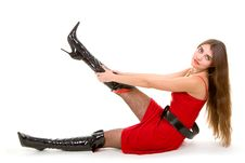 Free Glamour Woman Stock Photo - 7837810