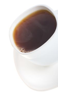 Free Cup Of Coffee With Vapor Stock Photo - 7837950