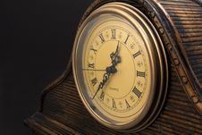 Free Wooden Clock Stock Images - 7838434