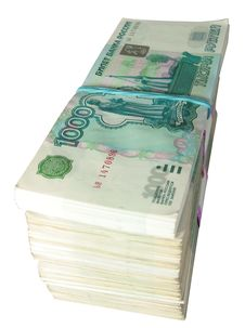 1000 Russian Roubles Stock Image