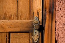 Free Old Wood Door Stock Image - 7838901