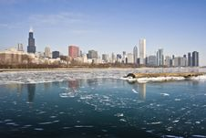 Free Winter In Chicago Royalty Free Stock Image - 7838936
