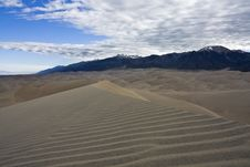 Free Great Sand Dunes National Park Royalty Free Stock Photo - 7838965
