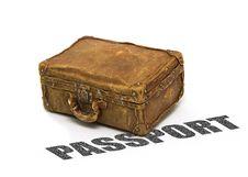 Free Passport Suitcase Stock Images - 7839114