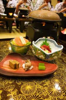 Free Traditional Japanese Style Dinner Royalty Free Stock Images - 7839249