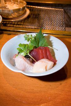 Free Authentic Japanese Sashimi Royalty Free Stock Photos - 7839258