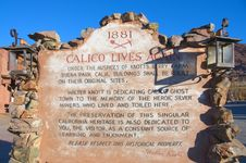 Free Calico Ghost Town Royalty Free Stock Photos - 7839468
