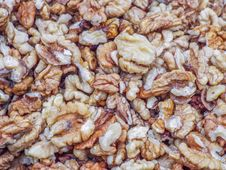 Free Walnuts Background Royalty Free Stock Photo - 78387705
