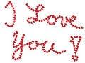 Free I Love You ! Royalty Free Stock Photo - 7840155