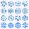 Free Some Of My Snowflakes Royalty Free Stock Image - 7844766