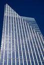 Free Blue Pyramid Tower On Dark Blue Stock Photography - 7849632