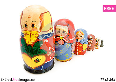 Matrioshka Stock Photo