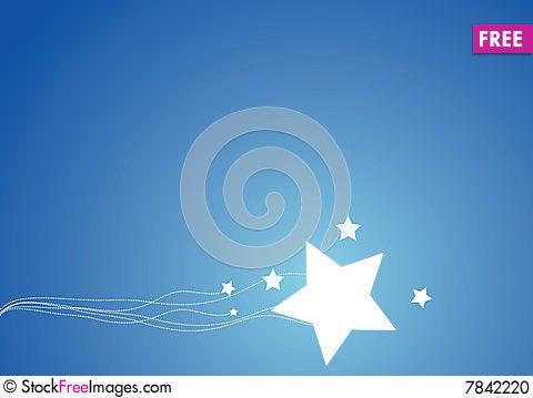 Free Stars Background Stock Photo - 7842220