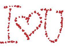Free I Love You ! Stock Photos - 7840193