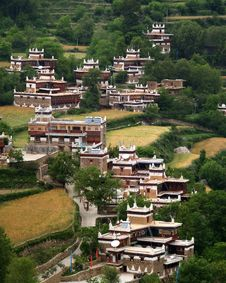 Free Tibetan House Royalty Free Stock Photos - 7840608