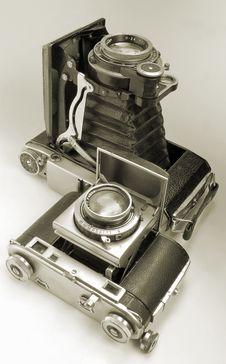 Free Cameras. Royalty Free Stock Photo - 7840875