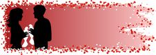 Free Valentine Card Royalty Free Stock Photography - 7841417