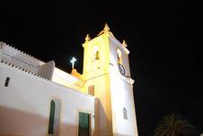 Free Church At Night Stock Photo - 7841620