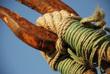 Free Rusty Anchor Stock Photography - 7841652