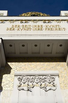 Free Secession, Art Nouveau In Vienna Stock Photography - 7842072