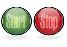 Free Start Stop Button Stock Photography - 7842522