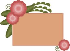 Free Flowers & Leaves Banner Royalty Free Stock Image - 7842546